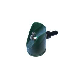 Uzgalis atsaitei D38 mm ar skrūvi zaļš