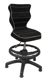 Vaikiška kėdė Entelo VS01, juoda