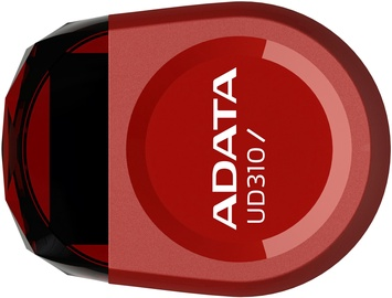 USB atmintinė ADATA DashDrive UD310 Red, USB 2.0, 32 GB