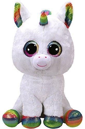 Pliušinis žaislas TY Beanie Boos Pixy Unicorn, 42 cm
