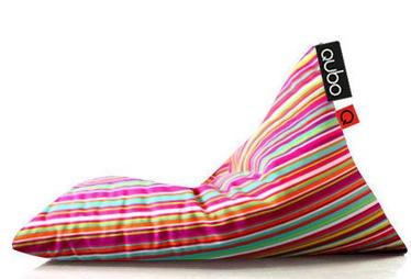 Кресло-мешок Qubo Tryangle Stripes, 100 л