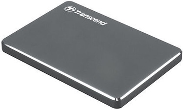 """Transcend StoreJet 25C3N 2.5"""" 1TB Grey"""