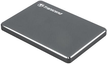 Жесткий диск Transcend StoreJet 25C3N, HDD, 1 TB, серый
