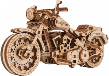 Wooden City 3D Puzzle Cruiser V-Twin 168pcs