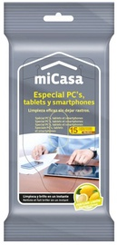 Micasa Wet Wipes For Computers, Tablets and Smartphones 15PCS