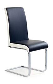 Svetainės kėdė K - 103, juoda - balta