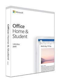 Microsoft Office Home and Student 2019 Latvian Medialess Box