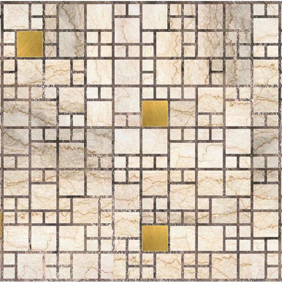 Вагонка Decoration Board Mosaic Marble 9775