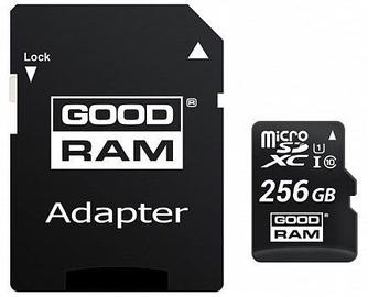 GoodRam M1AA 256GB microSDXC UHS-I Class 10 + Adapter