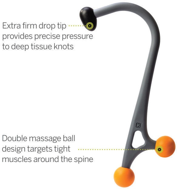 Trigger Point AcuCurve Cane Massage Tool