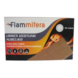 Ugnies įdegtukai kubeliais Flammifera, 64 vnt.