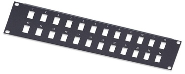 Intellink Blank Port Panel 19'' Black