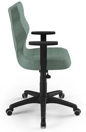 Офисный стул Entelo Duo AL05, черный/зеленый