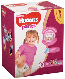Huggies Pants Girl S6 60