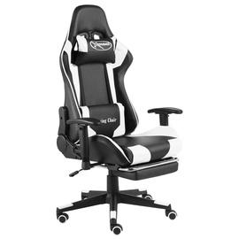 Игровое кресло VLX 20501, белый/черный
