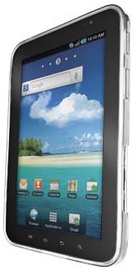 "Trust Silicone Skin for Galaxy Tab 7"" Transparent White"