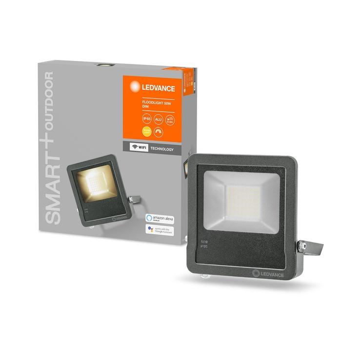 Светильник Ledvance 4058075474666, 1x50Вт, 3000°К, LED, IP65, серый