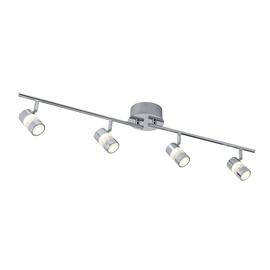 Kryptinis šviestuvas Searchlight Bubbles 4414CC, 4x4.5W Integruota LED