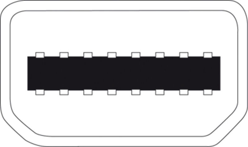 Digitus Adapter Displayport-mini to HDMI