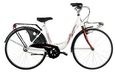 """Dviratis Bottari Good Bike Siviglia 26"""" White"""