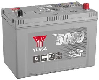 Аккумулятор Yuasa YBX5335, 12 В, 100 Ач, 830 а