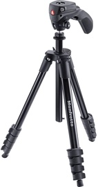 Manfrotto Compact Action Black Tripod + Head (kahjustatud pakend)