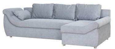 Bodzio Rojal Corner Sofa Right Velor Grey