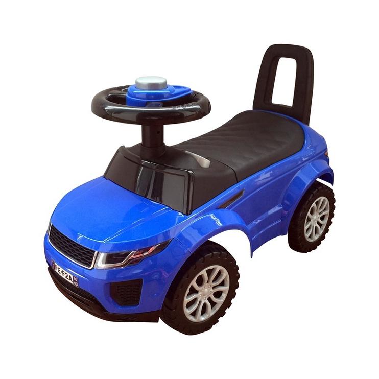 Paspirtukas mašina, mėlynas