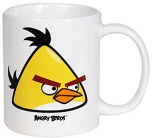 Banquet Angry Birds Yellow Mug 325ml