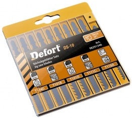 Defort DS-10 Jigsaw Blade Set 10pcs