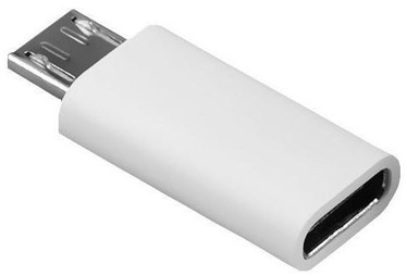 Mocco Universal USB Type-C To Micro USB Adapter White