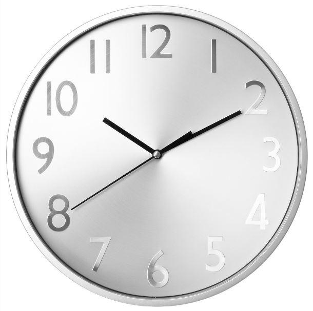 Pulkstenis sienas d30cm 141133