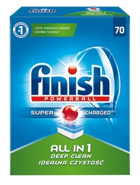 Finish All in 1 Powerball Tabs 70pcs