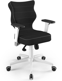 Entelo Perto White Office Chair FC01 Black