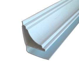 Plastikinių dailylenčių lubų juosta PL 05, balta, 270 cm