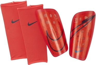 Nike Mercurial Lite Shin Guards SP2120 644 Red Black L