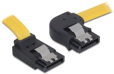 Delock Cable SATA / SATA Yellow 0.3 m