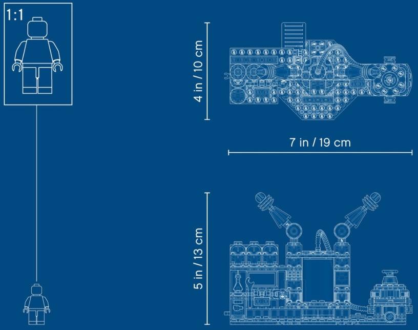 Конструктор LEGO Hidden Side J.B.'s Ghost Lab 70418 70418, 173 шт.