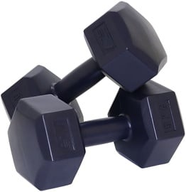 SportVida GYM & Fitness Comfort Dumbbell Set 2x5kg Black