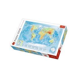 Trefl Puzzle Physical World Map 1000pcs