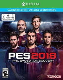 Pro Evolution Soccer 2018 Legendary Edition Xbox One