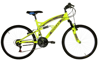 Henry Hogan MTB Full Susp 24'' Yellow
