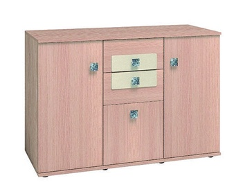 Glazov Ameli 10 Chest Of Drawers 119x82x44cm Oak