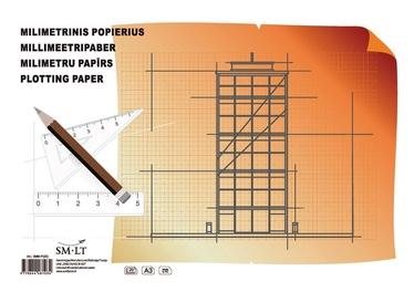 Milimetrinis popierius SMLT, A3, 20 lapų
