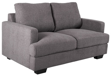 Dīvāns Home4you York 2 21733 Dark Grey, 149 x 88 x 85 cm