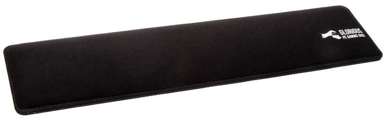 Glorious PC Gaming Race GSW-100 Keyboard Slim Wrist Rest Black