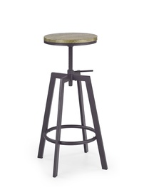 Halmar H-64 Bar Stool Coffee/Old Vasion
