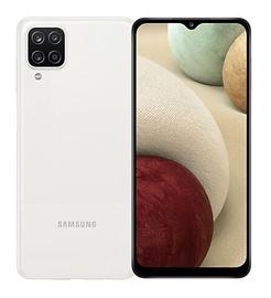 Mobilusis telefonas Samsung Galaxy A12, baltas, 3GB/32GB