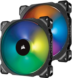 Corsair ML140 Pro RGB Fan 104mm 2-Pack