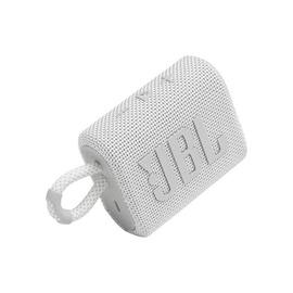 Belaidė kolonėlė JBL GO 3, balta, 4 W